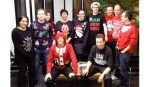 View Christmas Jumper day raises money for Save the Children charity