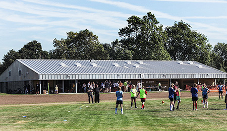 Barn Elms Sports Facility Officially Opens Ad Architects