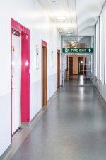 Bedford Hospital MRI Corridor