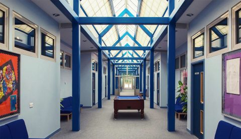 Belmont Park - Atrium