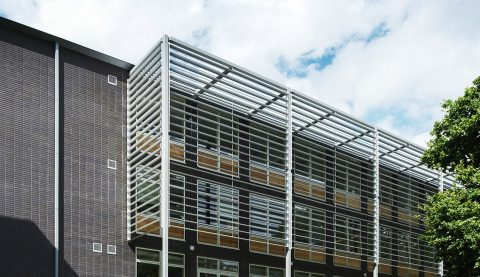 Health Research Building Solar Shading